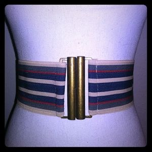 Stripped belt